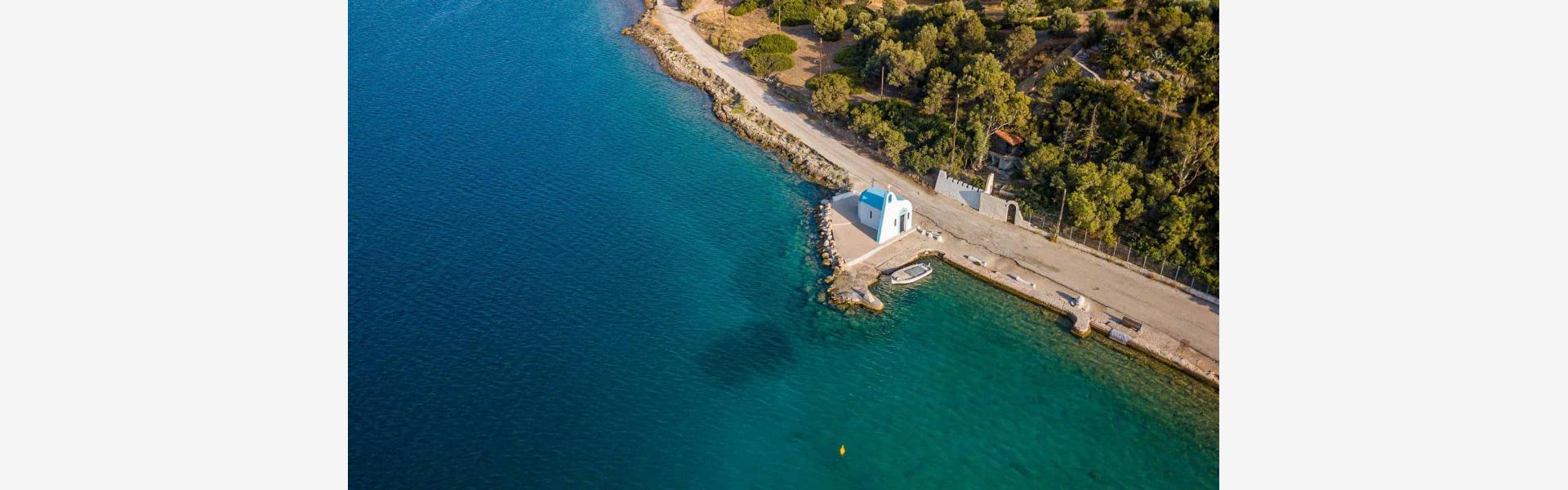 Λιμνοθάλασσα Ηραίου εκκλησάκι