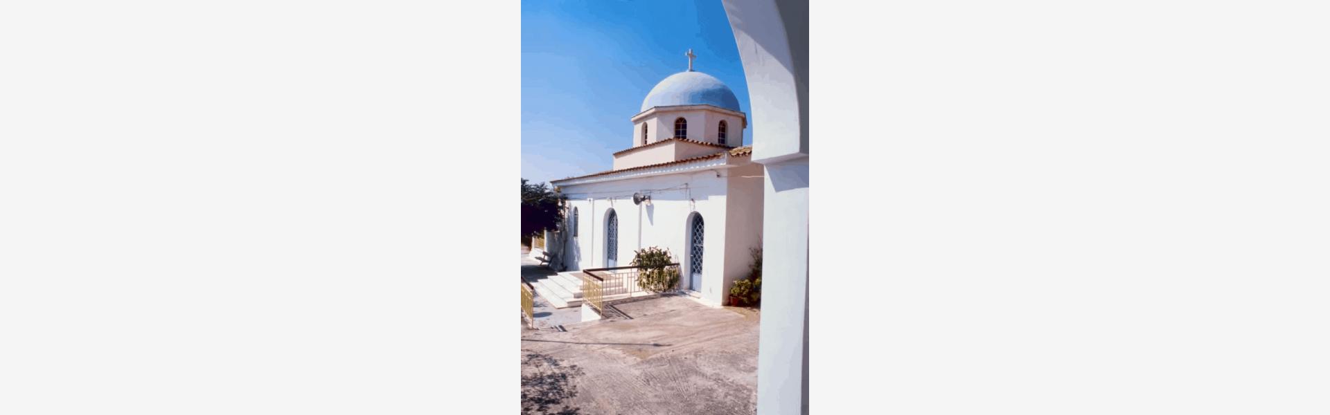 Ιερός ναός Αγίου Φανουρίου