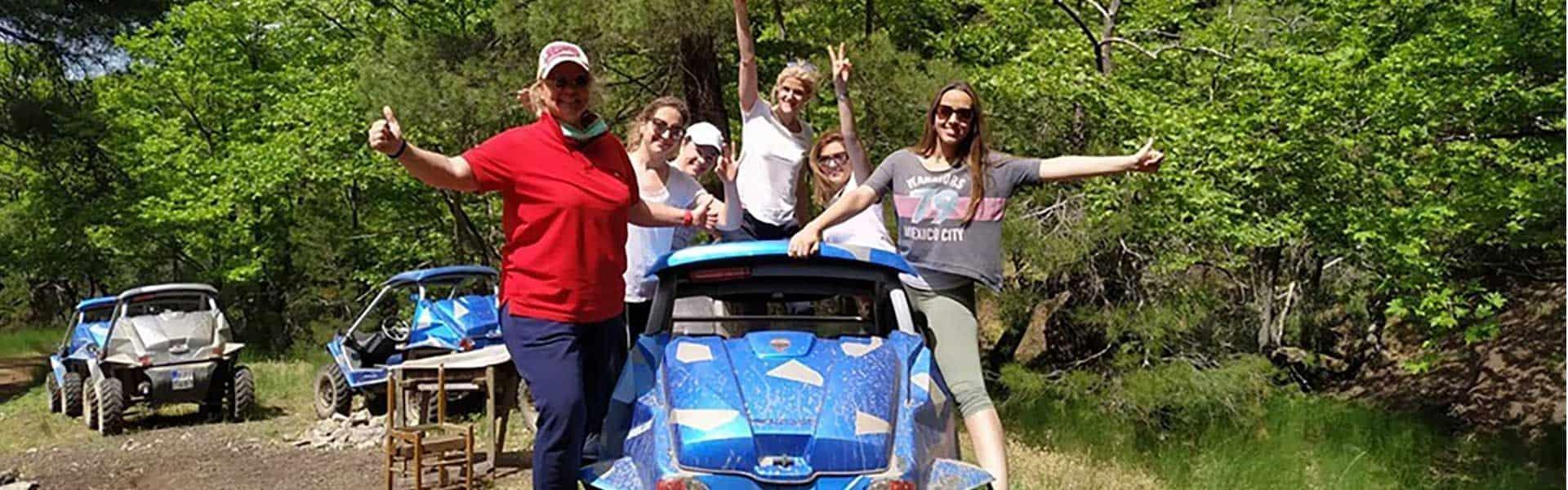 Buggy Tours - Δραστηριότητες στο Λουτράκι