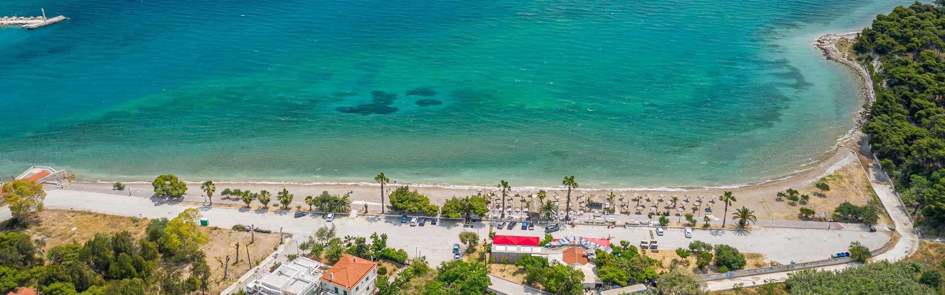 Παραλία Ίσθμια - Καλαμάκι