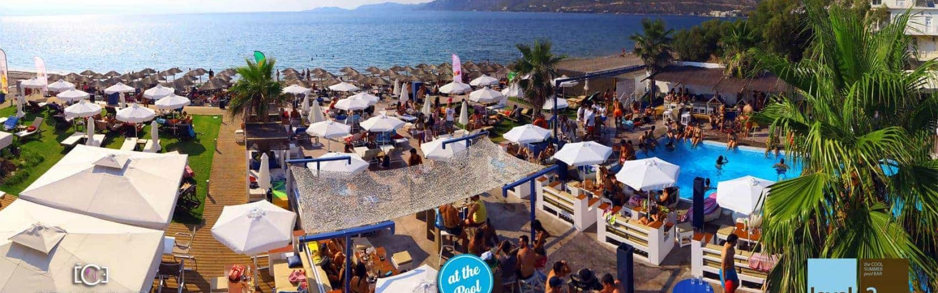 Level 2 beach bar Λουτράκι