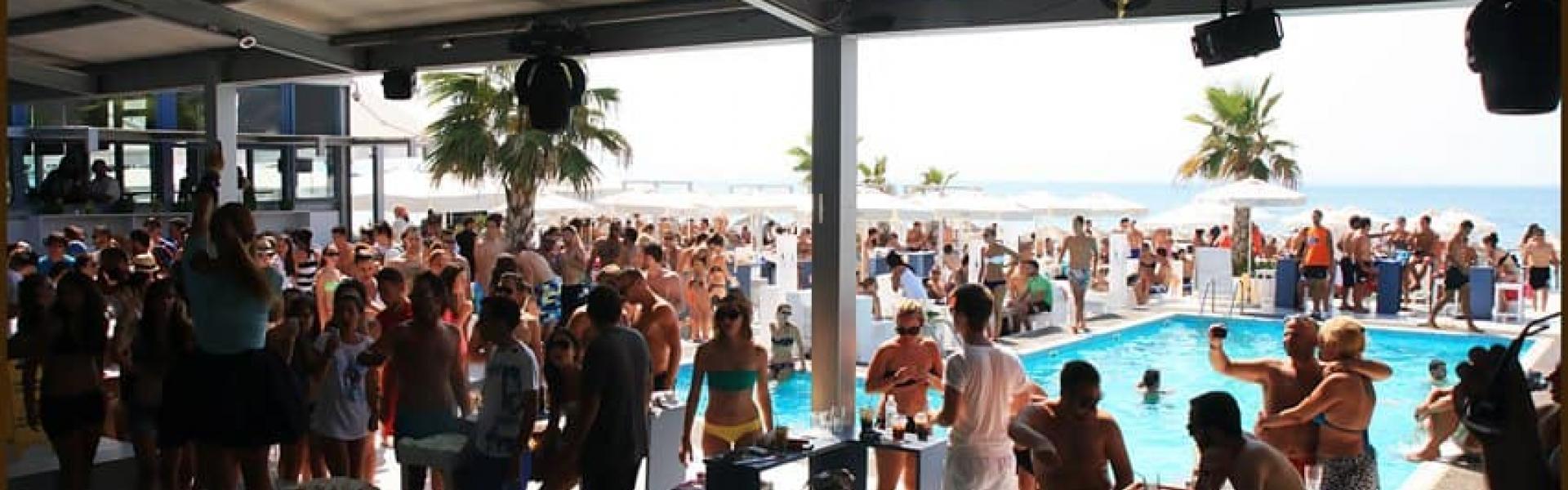 Level 2 beach bar