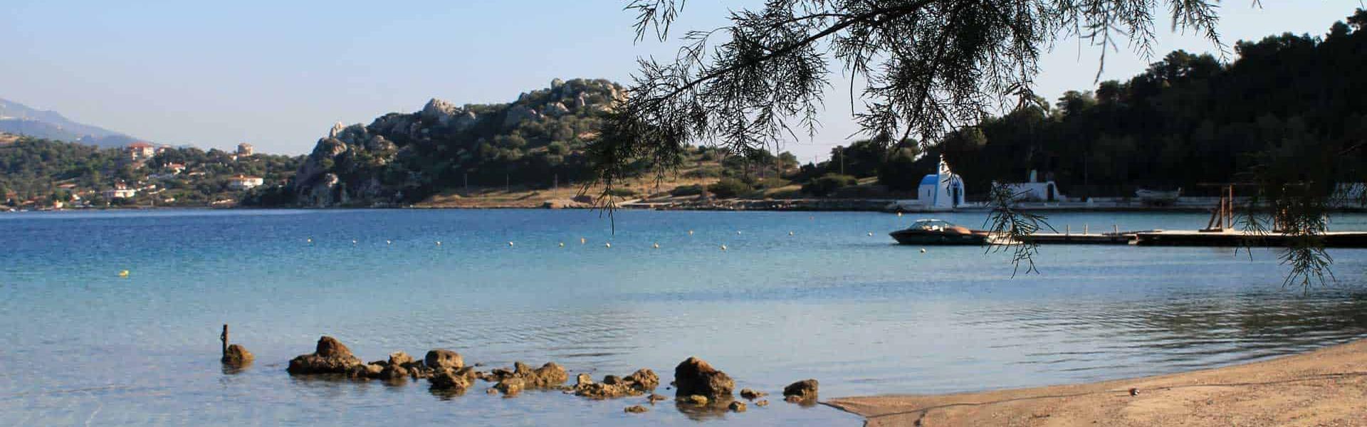 Λίμνη Βουλιαγμένης παραλία