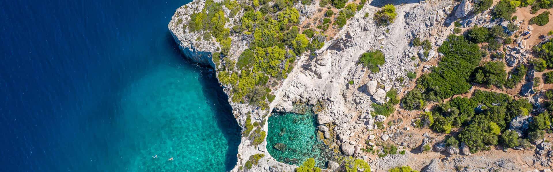 Σπηλιά της φώκιας πανοραμική