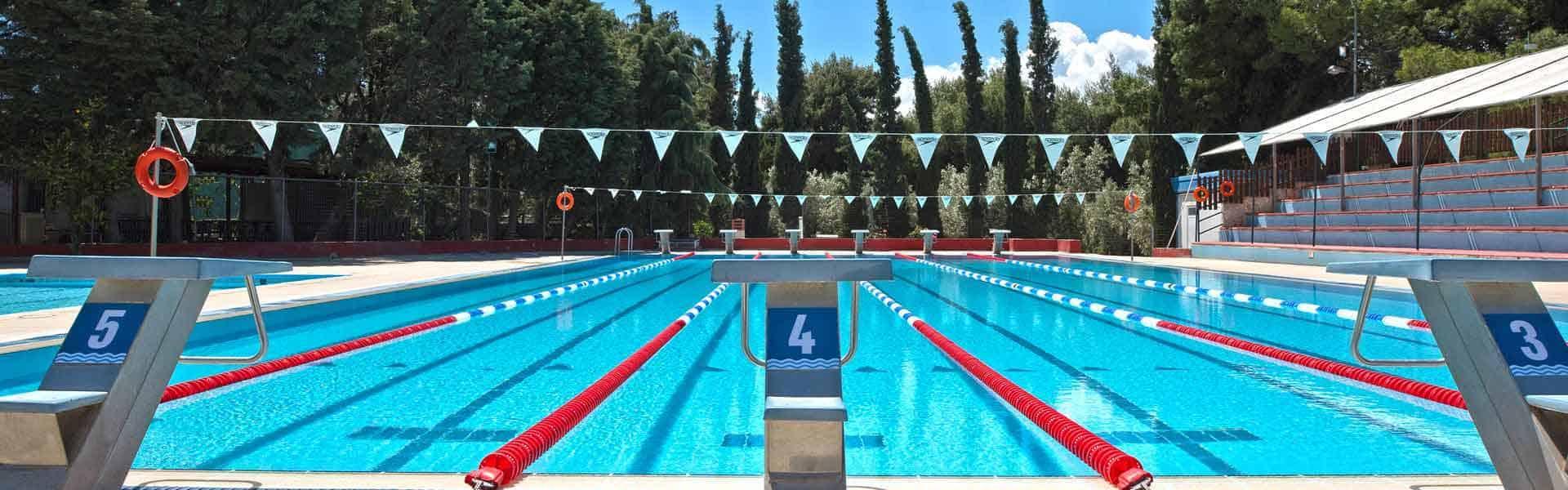 Sportcamp swimming pool