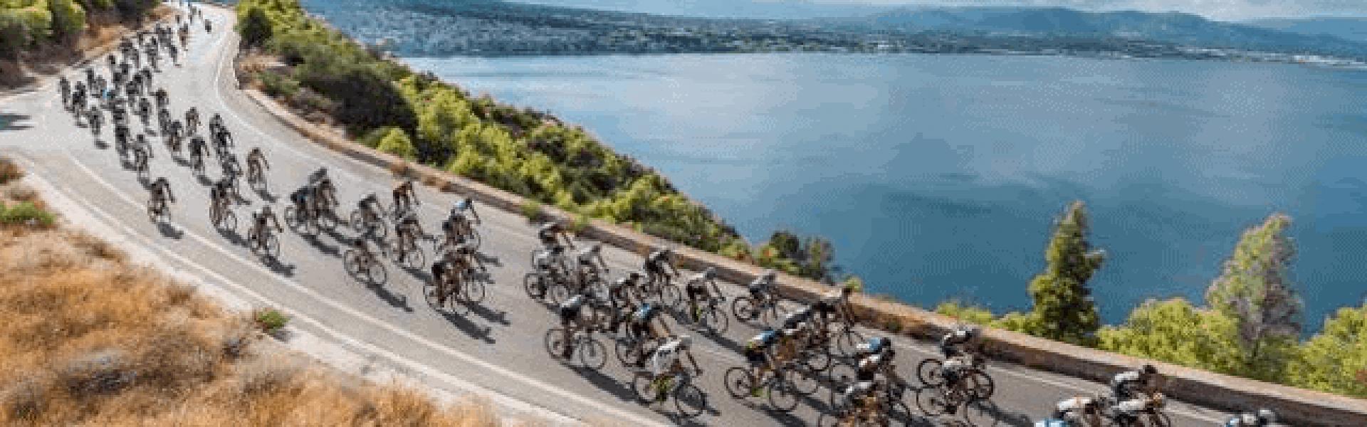 Αγώνες ποδηλασίας στο Λουτράκι