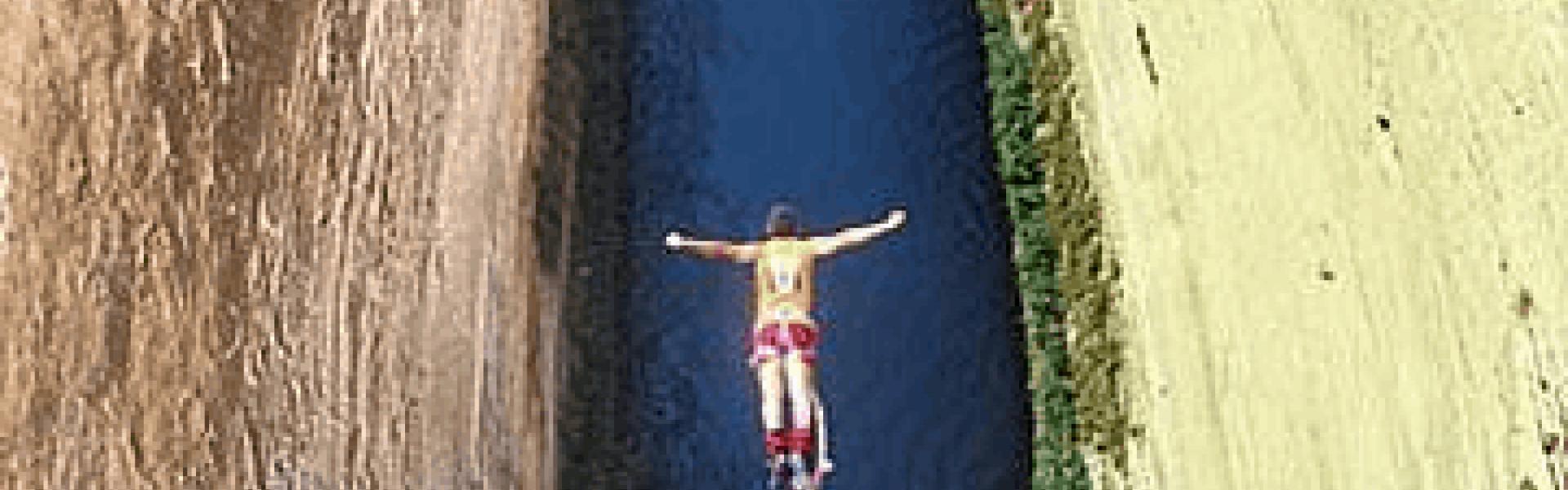 Bungee Jumping στο Κανάλι του Ισθμού