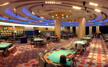Casino nights playroom