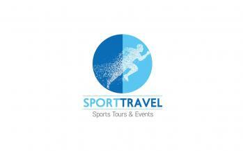 sport travel logo loutraki