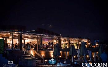 Cocoon beach bar Λουτράκι