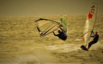 Windsurfing - Άθλημα Ιστιοσανίδας Λουτράκι