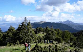 Γεράνεια Όρη στο Λουτράκι