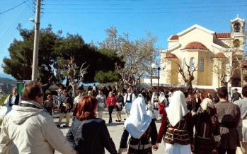 Χορός του Γιαρέντη στο Λουτράκι