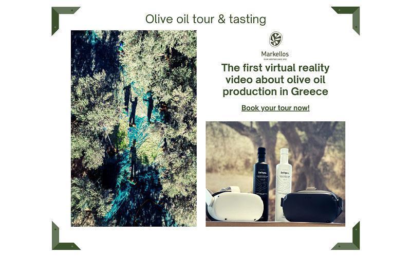 Markellos Olive Oil Tour