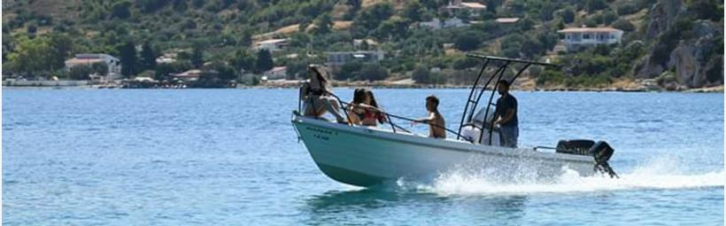 DIOLKOS Park Boat Loutraki