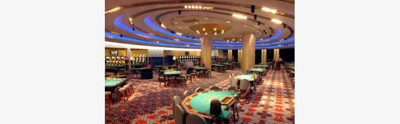 Casino nights playroom