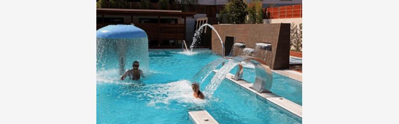 Spa Loutraki pool