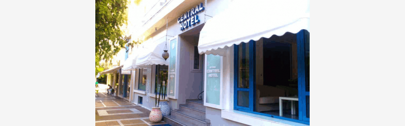 central hotel loutraki